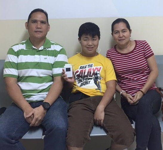 JOYOUS SHARING OF A BOY WITH PROFOUND HEARING LOSS