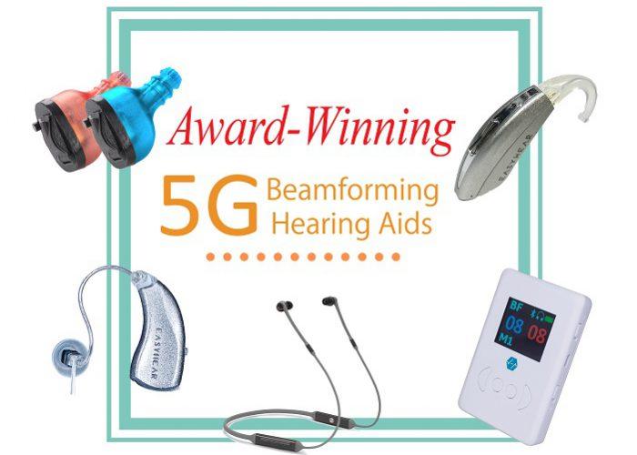 award winning beamforming hearing aids